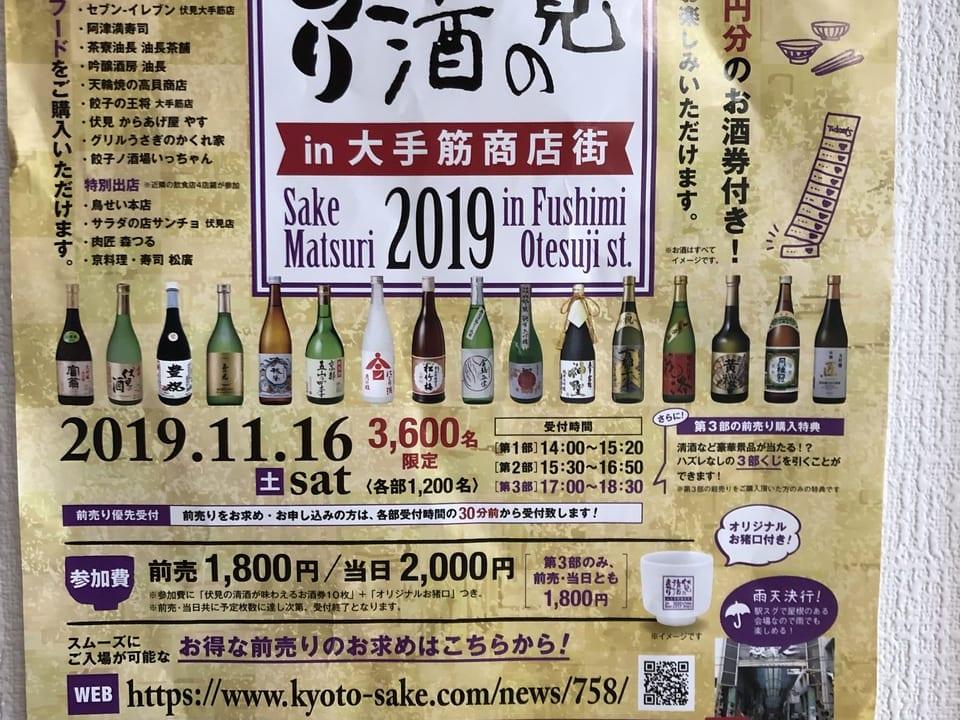 伏見の清酒祭りポスター